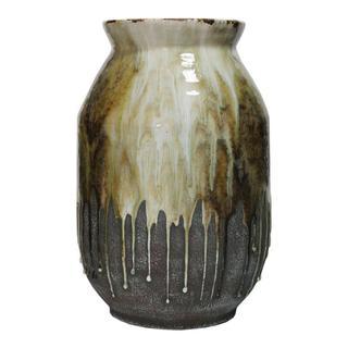 Born Ceramic Vase Amber