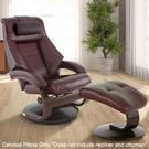 Mandal Cervical Pillow in Merlot Top Grain Leather Product Image
