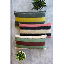See Details - set of 3 jute lumbar pillows