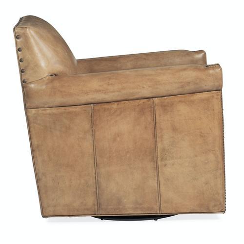 Living Room Potter Swivel Club Chair