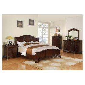 Cameron Queen Leathe Bed
