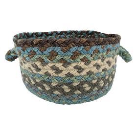 Wanderer Ocean Blue Braided Rugs