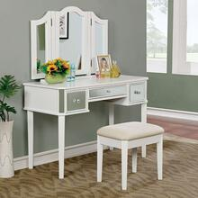 See Details - Clarisse Vanity W/ Stool