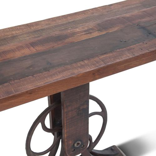"""Whitley 56"""" Reclaimed Wood Console Table"""