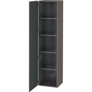 Tall Cabinet, Flannel Gray Satin Matte (lacquer)