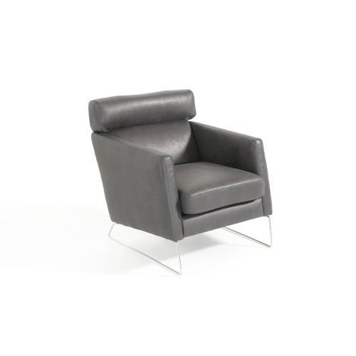 VIG Furniture - Estro Salotti Ethan - Modern Black Leather Sectional Sofa