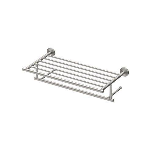Latitude2 Minimalist Towel Rack in Satin Nickel