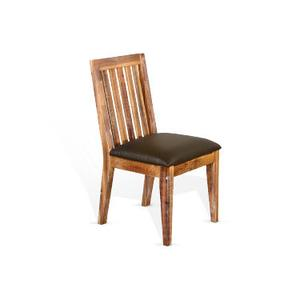 Slatback Chair, Cushion Seat