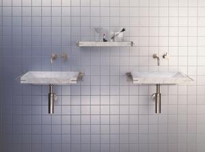 Sync System Small Shelf / Carrara Marble Product Image