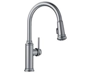 Empressa With Pull-down Spray (1.5GPM) - Stainless Finish Product Image