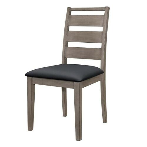 Side Chair, Black PU