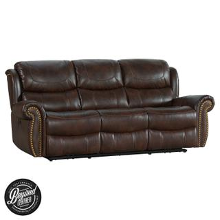 See Details - Hyde Park Sofa  Tobacco