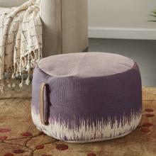 "Life Styles As263 Plum 20"" X 20"" X 12"" Pouf"