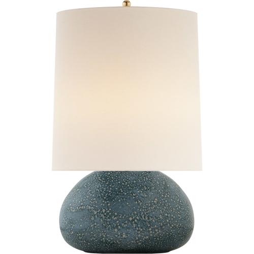 AERIN Sumava 27 inch 100 watt Blue Lagoon Table Lamp Portable Light, Medium