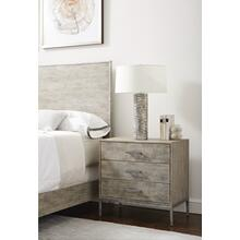 Cameron Nightstand - Raw Silk