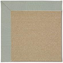 Creative Concepts-Sisal Canvas Spa Blue Machine Tufted Rugs