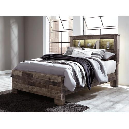 Derekson - Multi Gray 3 Piece Bed (Full)