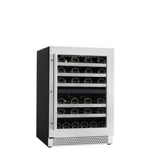 See Details - Built-in/freestanding Wine Cellar 41 Bottles Capacity - Dual Zone