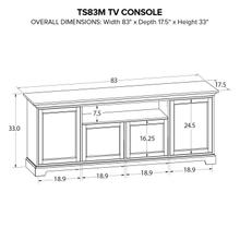 TS83M Custom TV Console