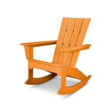 View Product - Quattro Adirondack Rocking Chair in Tangerine