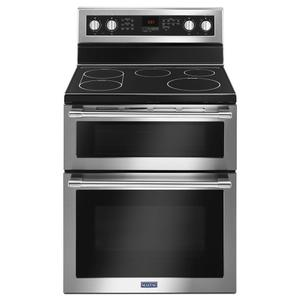 30-Inch Wide Double Oven Electric Range With True Convection - 6.7 Cu. Ft. -