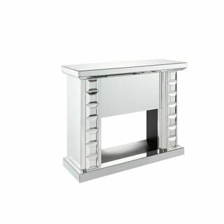 ACME Dominic Fireplace - 90202 - Mirrored