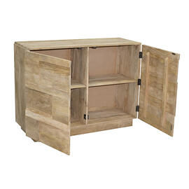 See Details - Console/Dresser - Natural Mango Finish
