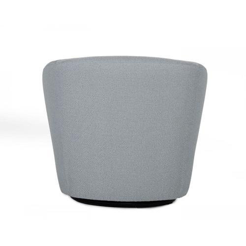 VIG Furniture - Divani Casa Tyson - Modern Grey Fabric Accent Chair