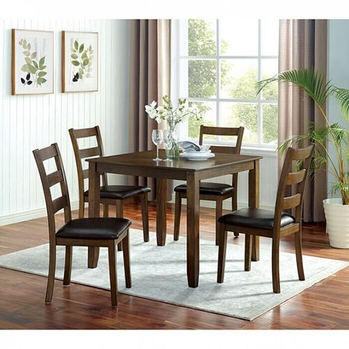 Furniture of America - Gracefield 5 Pc. Dining Table Set