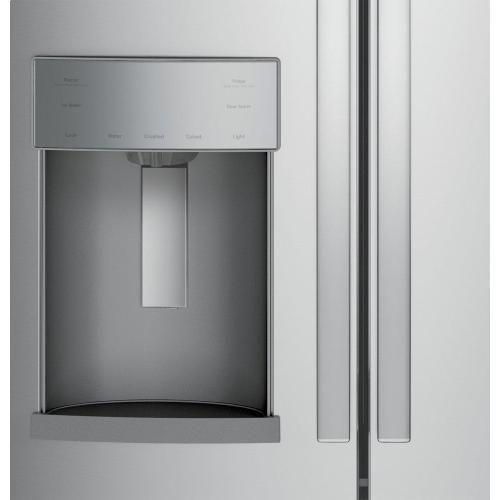 Gallery - GE® 27.7 Cu. Ft. Fingerprint Resistant French-Door Refrigerator with Door In Door