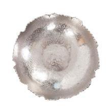 View Product - Silver Broken Edge Bowl / Wall Art