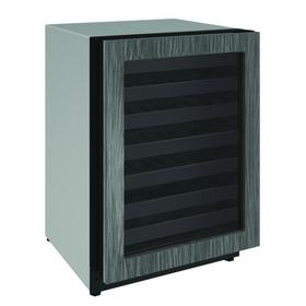 """2224wc 24"""" Wine Refrigerator With Integrated Frame Finish and Field Reversible Door Swing (115 V/60 Hz Volts /60 Hz Hz)"""