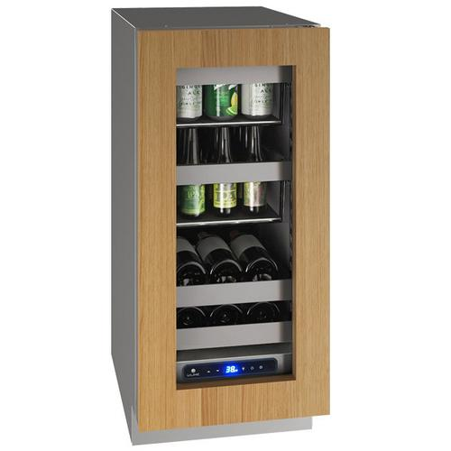 """Hbv515 15"""" Beverage Center With Integrated Frame Finish and Field Reversible Door Swing (115 V/60 Hz Volts /60 Hz Hz)"""