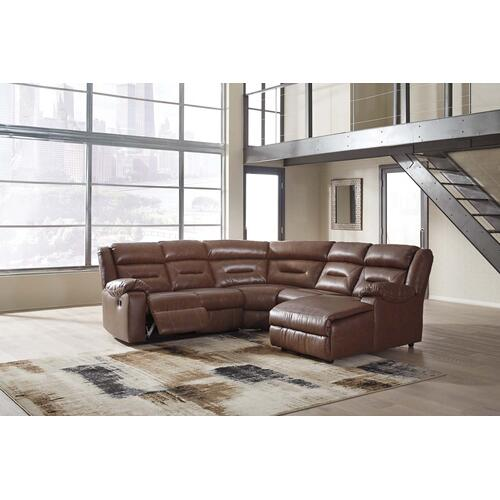 Coahoma 3-piece Reclining Sectional