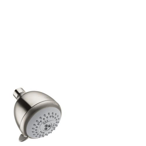 Brushed Nickel Showerhead E 75 3-Jet, 2.0 GPM