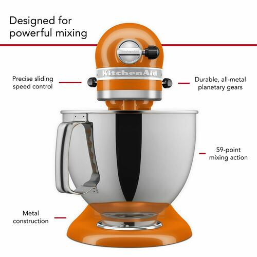 KitchenAid - Artisan® Series 5 Quart Tilt-Head Stand Mixer in Honey