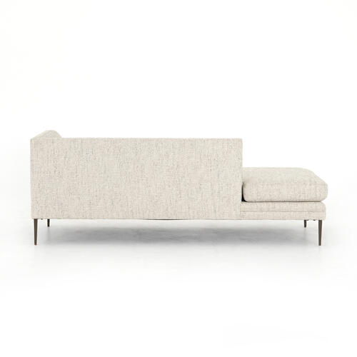 Lyon Pewter Cover Right Arm Chaise Configuration Kingsley Sectional