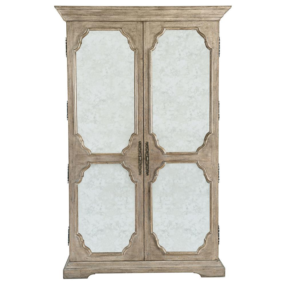 See Details - Campania Armoire in Weathered Sand (370)