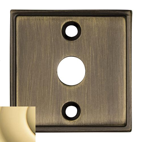 Baldwin - Non-Lacquered Brass 0424 Hollywood Hills Emergency Release Trim