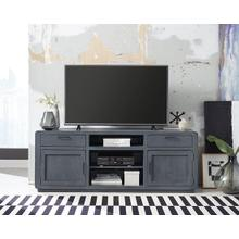 74 Inch Console - Blue Lagoon Finish