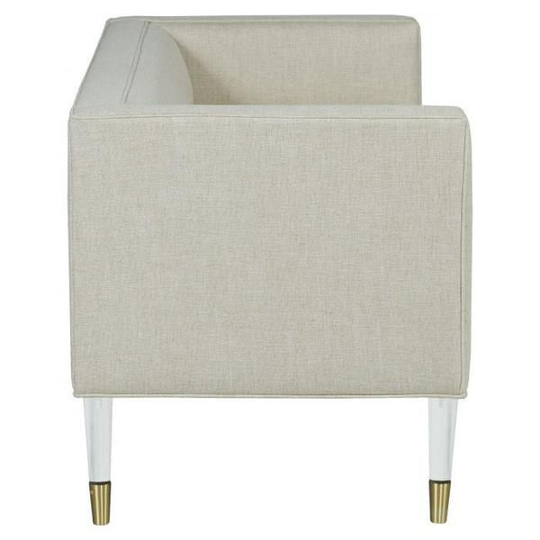 See Details - Tuxedo Back with Tight Seat Bench