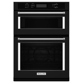 "30"" Combination Wall Oven with Even-Heat True Convection (Lower Oven) Black"