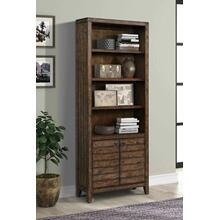 TEMPE - TOBACCO 32 in. Open Top Bookcase