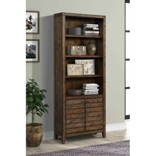 Parker House - TEMPE - TOBACCO 32 in. Open Top Bookcase