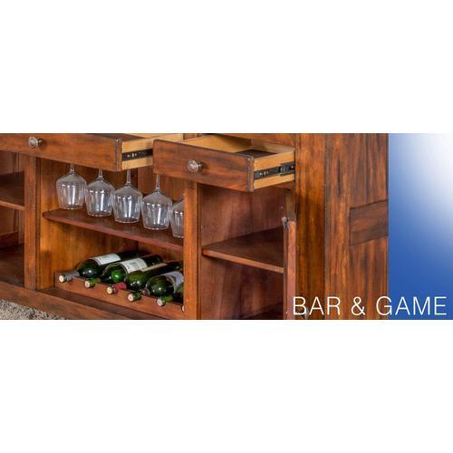 "Tuscany 78"" Bar"