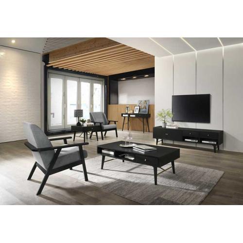 VIG Furniture - Modrest Bonfoy - Modern Black Ash TV Stand