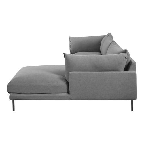Moe's Home Collection - Jamara Sectional Charcoal Right