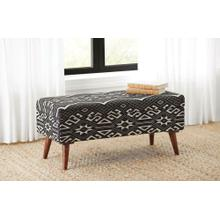 Upholstered Storage Accent Bench