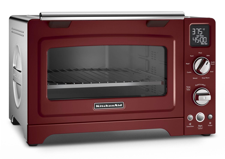 "Kitchenaid12"" Convection Digital Countertop Oven Gloss Cinnamon"