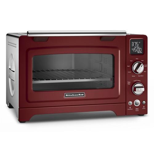 "KitchenAid - 12"" Convection Digital Countertop Oven Gloss Cinnamon"